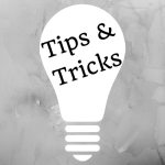 Tipsandtricks